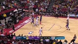 3rd Quarter, One Box Video: Los Angeles Lakers vs. Detroit Pistons