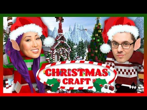 MINECRAFT CHRISTMAS BEGINS (Maricraft: ChristmasCraft Pt 1)