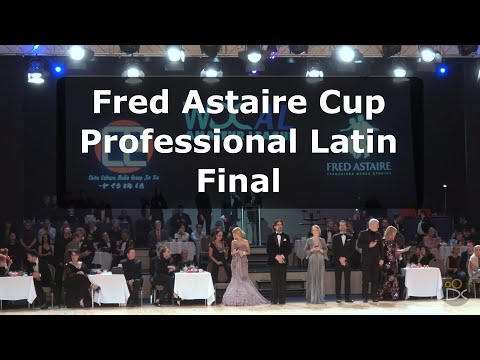 Fred Astaire Cup Professional Latin - Disney 2018 | Grand Fi