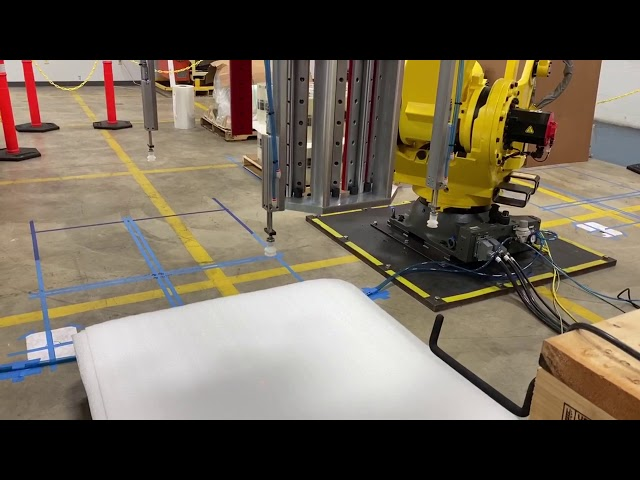 Robotic Palletizer & Slip-Sheet Placement