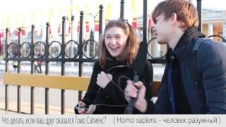 ЧТО ДЕЛАТЬ ЕСЛИ ВАШ ДРУГ ГОМОСАПИЕНС? / HOMO SAPEINS