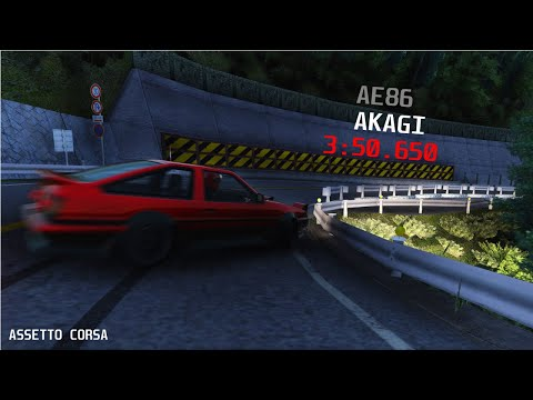 [PB] Akagi 3:50.650 | AE86 Drift | Assetto Corsa |