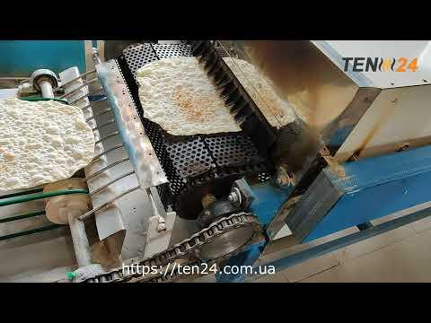 Туннельная печь и линия для производства лаваша