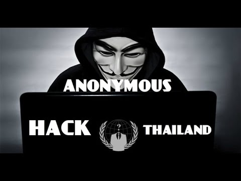 ANONYMOUS - HACK POLICE THAïLANDAISE (live hacking) #OpSingleGateway