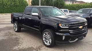 2018 Chevrolet Silverado 1500 LTZ  Double Cab Black Roy Nichols Motors Courtice ON