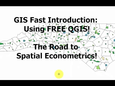 QGIS Intro Video 1: Free GIS