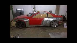 300zx All Metal Wide Bodied by Dasstech Garage
