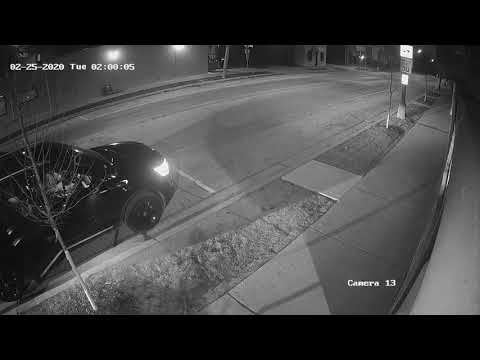ATM theft from Leo's Liquors, Brookfield, Feb. 25, 2020 (Part 1)