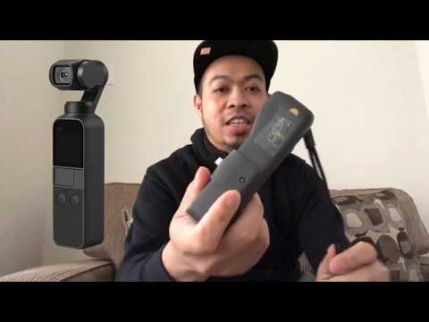 DJI OSMO Pocket - Smallest 3-axis Gimbal - Review