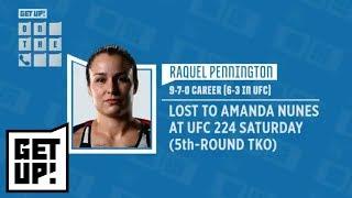 Raquel Pennington defends her corner after violent UFC 224 fight vs. Amanda Nunes   Get Up!   ESPN