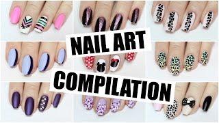 Nail Art Compilation   The Nail Trail   Jan 2016
