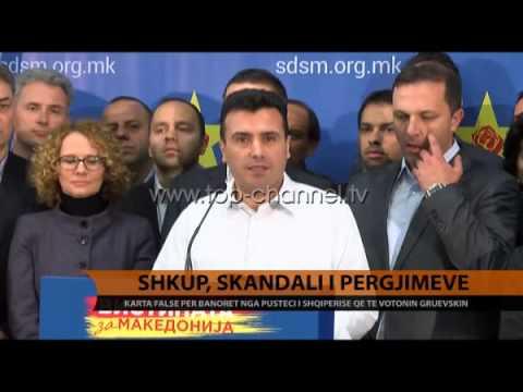 Maqedoni, Jankullovska: Shqiptarët të kapen prej fyti - Top Channel Albania - News - Lajme