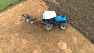 FORD 8630 AND KVERNELAND PLOUGH