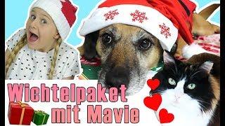 Wichteln mit Mavie ♥ 1. Adventsspecial ♥ Tauschpakete mit Miyuki Tiervideos mit Herz