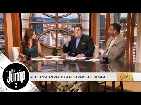 NBA fans will be able to pay to watch parts of games starting next season | The Jump | ESPN thumbnail