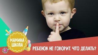 Как научить ребенка говорить. Мамина школа 18.03.2017