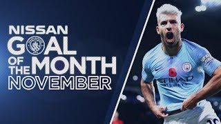 November Goal of the Month 18/19   Sterling, Aguero, Gundogan and Sane!