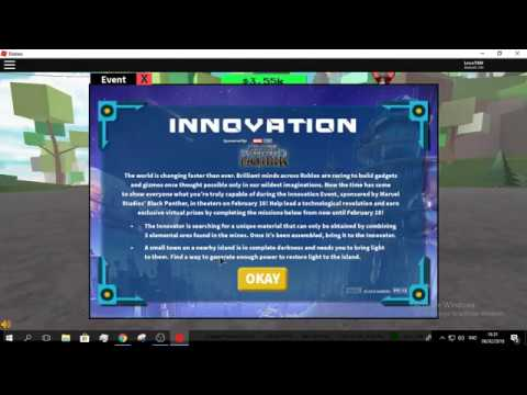 ROBLOX | ROBLOX | Innovation Event | Getting all the prizes! [ROBLOX Event Walkthrough]