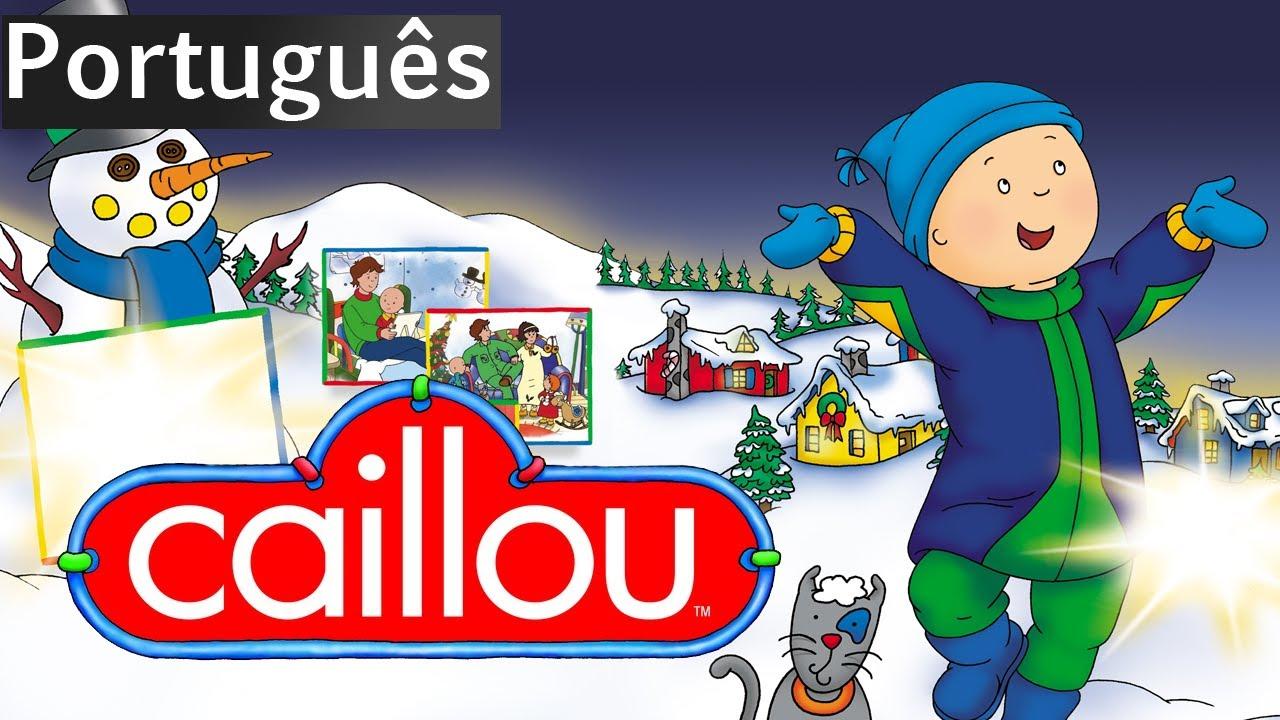 O Natal De Caillou O Filme Versao Completa Portugues Caillou Holiday Movie Youtube