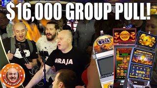 💥HUGE $16,000 SLOT GROUP PULL! 💥Slot Fest West 2019 JACKPOT$!
