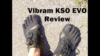 Vibram Five Fingers KSO EVO Review UPDATE for Forefoot Running