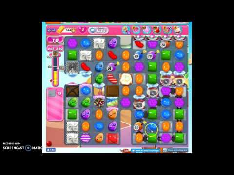 Candy Crush Level 1288 help w/audio tips, hints, tricks