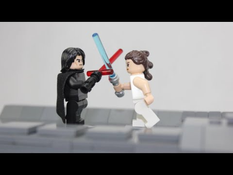 Lego Star Wars The Rise Of Skywalker Moc Kylo Ren Vs Rey Ep Ix Youtube