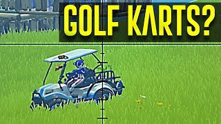 FIRST WIN IN FORTNITE SEASON 5 - THEY ADDED GOLF CARTS!