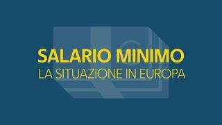 Salario minimo, in Europa si va dai 300 ai 2mila euro al mese - La videoscheda