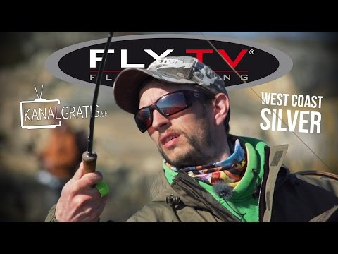 FLY TV - West Coast Silver - Fly Fishing for Sea Run Brown Trout