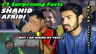 12 Surprising Facts About Shahid Afridi | Indian Reaction | by Mayank & Md Rashid