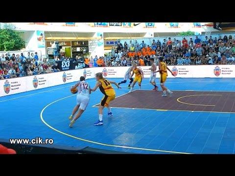Italy - Serbia: 16-18 ~ 3x3 EuroTour Romania 2016 - Women's Basketball