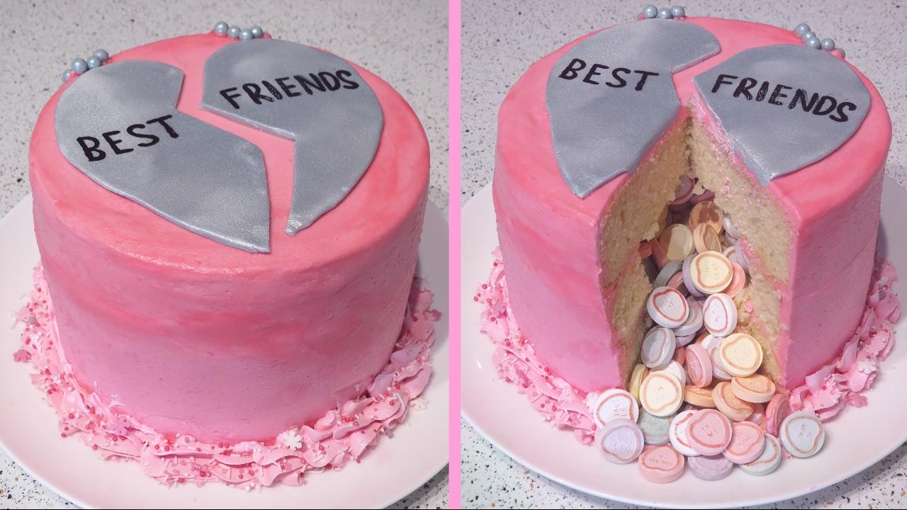 Galentine S Day Bestfriend Cake Cupcakegirl Youtube