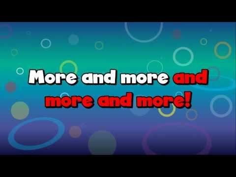 MORE! Unit 1 -  More More More KARAOKE