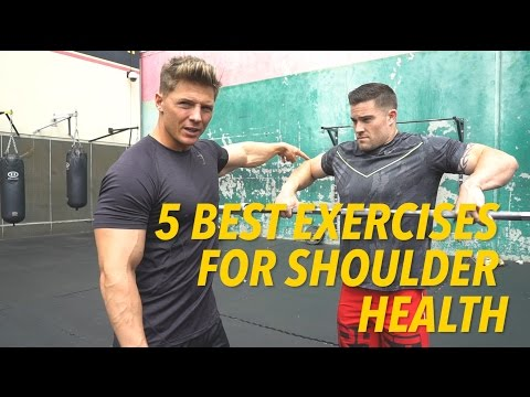5 BEST EXERCISES FOR SHOULDER HEALTH