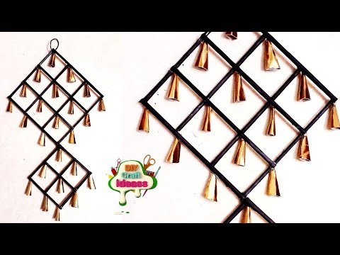 Crafts with Newspaper   Wall hangings ideas   Paper Craft - Arush DIY Crafts