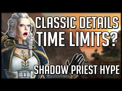 WoW Classic Restrictions Revealed - Shadow Priest Buffs In 8.1 | WoW BfA News