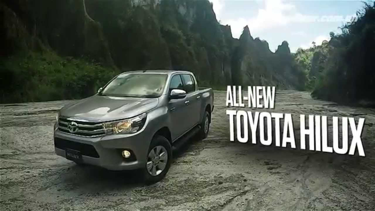 All New Toyota Hilux Youtube