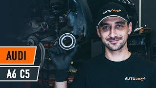 Comment changer Kit de roulement de roue AUDI A6 Avant (4B5, C5) - video gratuit en ligne