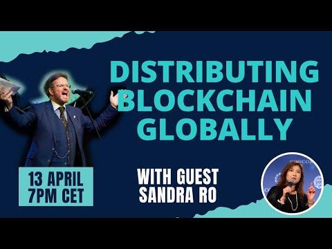 Distributing Blockchain Globally