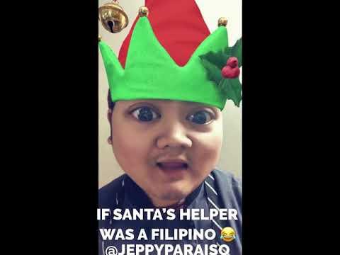 IF SANTA'S HELPER WAS A FILIPINO