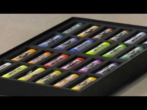SoHo Jumbo Artist Pastels - Product Demo