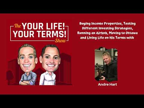 Buying Income Properties, Running an Airbnb and Living Life on His Terms with Andre Hart