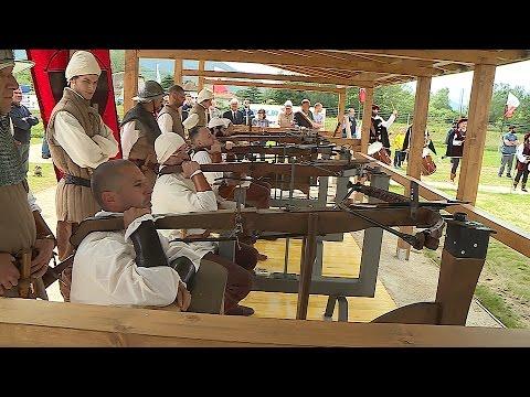 Inaugurato il campo di tiro dei balestrieri di San Paolino