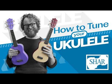 SHAR Workshop: How To Tune Your Ukulele