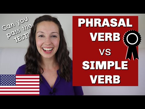 Test your PHRASAL VERB skills! Can you get all 9 correct?