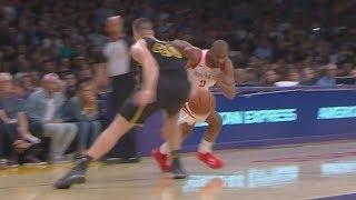 CP3 Dribbles Through Legs! Andre Ingram NBA Debut 32 Years Old! 2017-18 Season