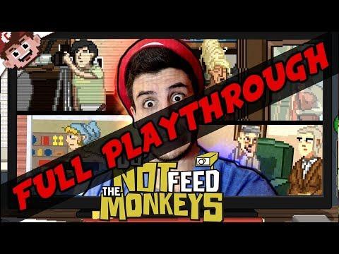 Do NOT Feed the Monkey's (FULL PLAYTHROUGH)
