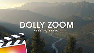 Dolly Zoom (Vertigo) Effect in Final Cut Pro X