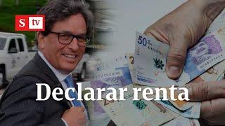 ¿Cuánto toca pagar? Carrasquilla responde a polémica por la declaración de renta   Vicky en Semana